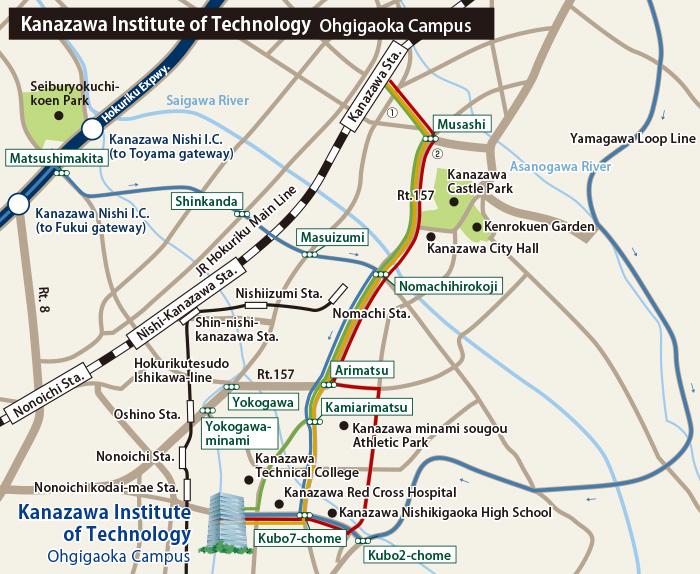 Ohgigaoka Campus Kanazawa Institute of Technology