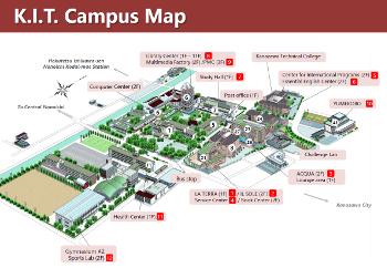 キャンパスマップ英語版