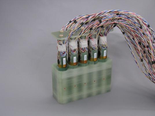 脊磁計センサユニットのプロトタイプ