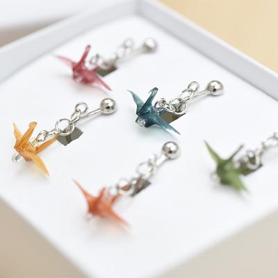 「Haku Origami(TM)」イヤリング