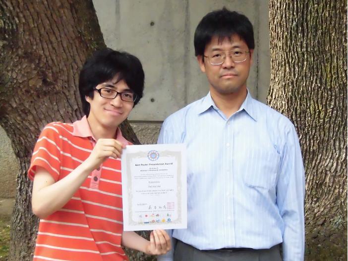 寺脇朋輝さんと土佐光司教授