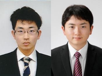 渡邉賢太郎さん(左)と大井恭さん