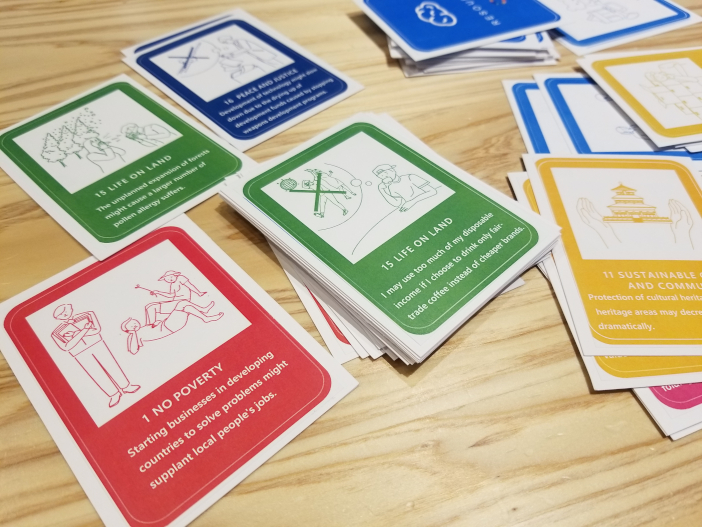 カードゲーム『THE SDGs Action cardgame「X(クロス)」』
