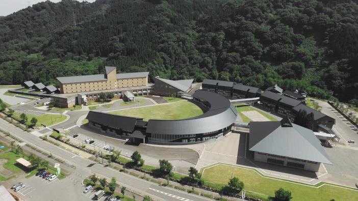 実証実験が計画されている金沢工業大学白山麓キャンパス