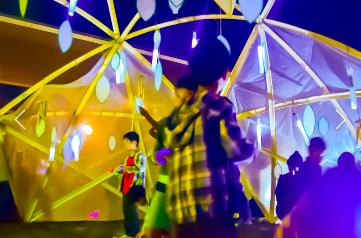 野々市市カメリア祭りでの子供達のための空間演出