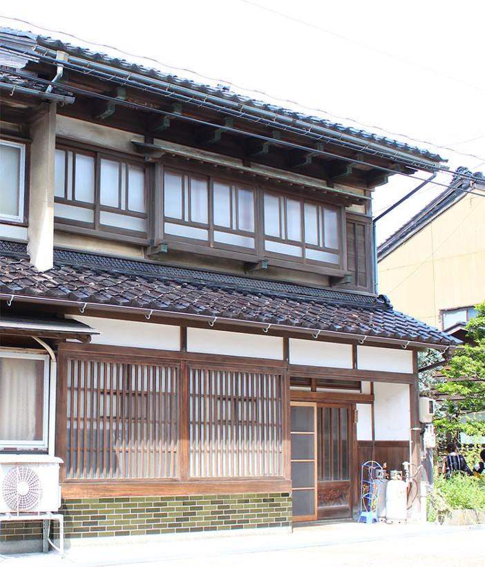 金沢市大野地区に残る金澤町家