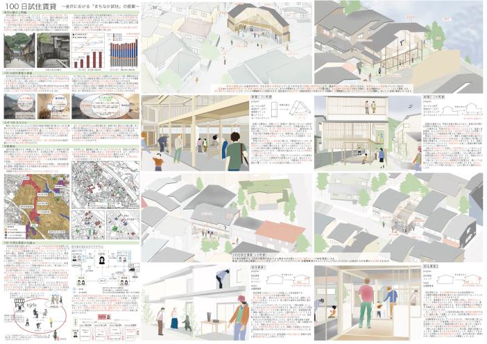 100日試住賃貸── 金沢における「まちなか試住」の提案
