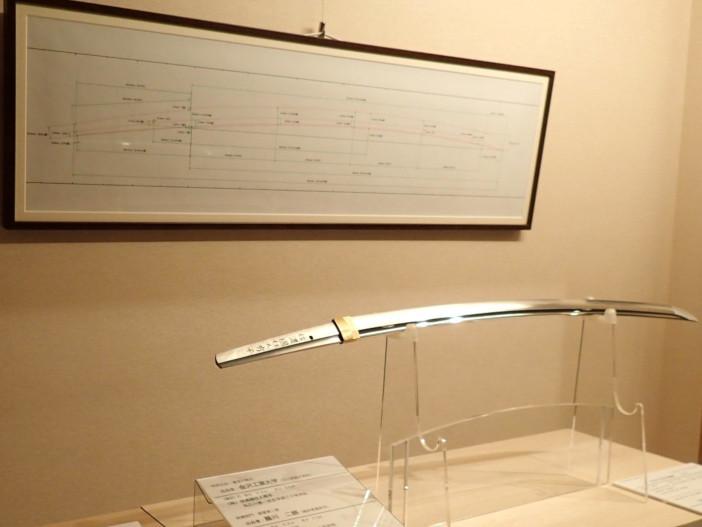 畝田研究室が科学的に設計した新作日本刀