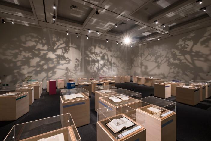 会場構成と展示デザインは宮下研究室が担当
