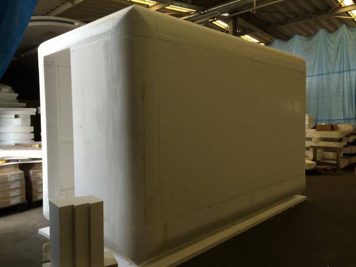 避難仮設構造物の試作品