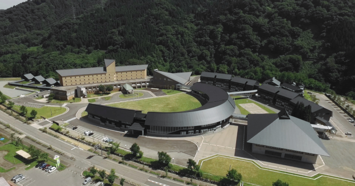北陸で初めて5G基地局が設置された金沢工業大学白山麓キャンパス