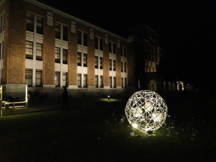 しいのき迎賓館正面広場(令和元年10月13日撮影)
