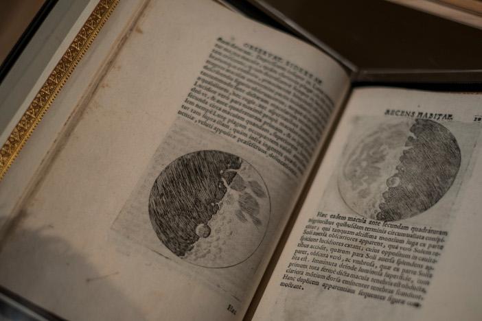 ガリレオ・ガリレイ「星界の報告」、ヴェネツィア、1610年、初版