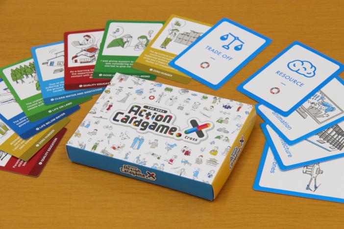 """英語版SDGsカードゲーム THE SDGs Action cardgame """"X(cross)"""" 製品版"""