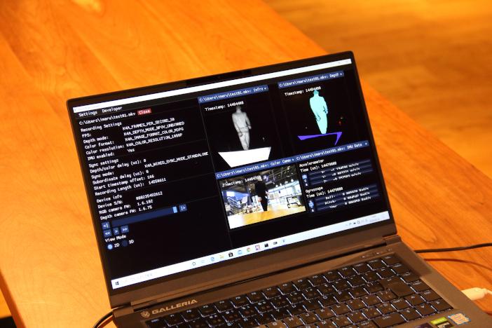 測定した映像を元に踊り手の動きを解析・評価する
