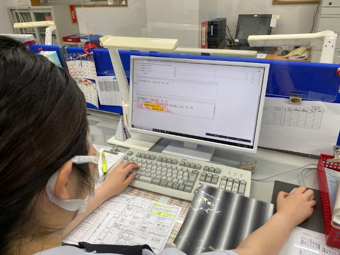 カネマツ鋼材株式会社に導入された生産管理システム