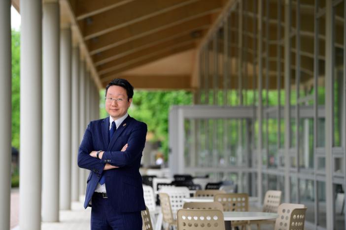 経済産業省主催のウェビナーで講演とモデレーターを担当する平本督太郎 金沢工業大学 SDGs推進センター長