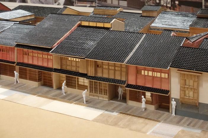 ひがし茶屋街の模型 詳細(PDF)