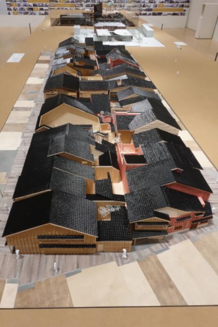 ひがし茶屋街の模型(PDF)