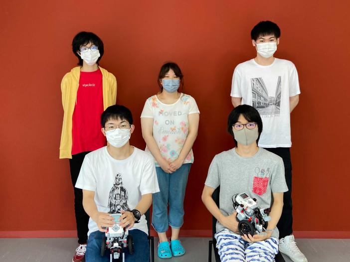 夢考房組込みソフトウェアプロジェクトのチーム「氷室」のメンバー